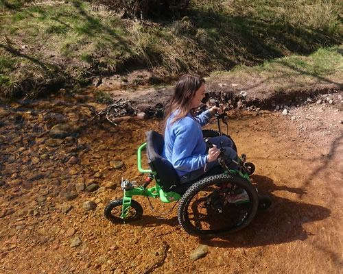 Wheelchair Adventure Race - Glenmore